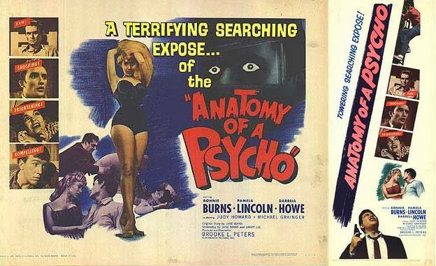 ANATOMY OF A PSYCHO lobby card